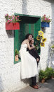 Wedding photographs in amoy city china the famous scenic spot gulangyu island is paradise of Royalty Free Stock Images