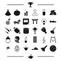 Wedding, pregnancy, reward and other web icon in black style. sport, entertainment, space icons in set collection.