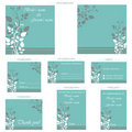 Wedding Reception Card Stock Image