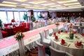 Wedding reception in China Stock Photo