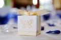Wedding reception details Royalty Free Stock Photo