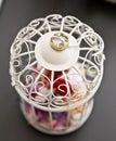 Wedding ring on lantern