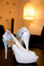 Wedding sandals Stock Images