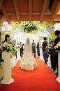 Wedding scene Royalty Free Stock Photo