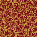 Wedding seamless pattern Stock Photo