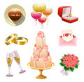Wedding Set Royalty Free Stock Image