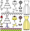 Wedding Shower clip art Stock Photo