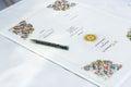 Wedding signature Royalty Free Stock Photo
