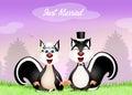 Wedding Of Skunks
