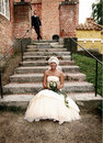 Wedding stairs Stock Photo