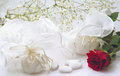 Wedding still life Royalty Free Stock Photo