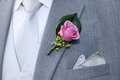 Wedding suit Stock Photography