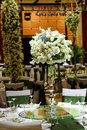 Wedding table set dining Royalty Free Stock Photos