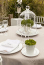 Wedding table setting 8 Royalty Free Stock Photos