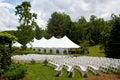 Wedding tent Royalty Free Stock Photo