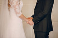 Wedding vows at the ceremony Royalty Free Stock Photo