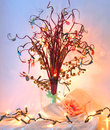 Wedding wishes tree hand made Royalty Free Stock Photography
