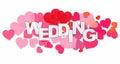 Wedding Word and Heart