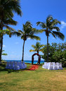 Weddings at bluebeards wyndham resort in st thomas u s virgin islands Stock Images