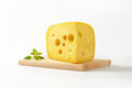 Wedge of cheese Royalty Free Stock Photo