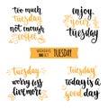 Weekdays motivation quotes