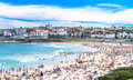 Weekend at Bondi Beach Royalty Free Stock Photo