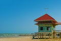 Weekend house on the beach cha am thailand mrigadayavan palace marukhathaiyawan Stock Photography