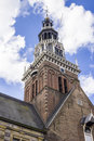 Weigh house called waag in alkmaar holland the netherlands Royalty Free Stock Images