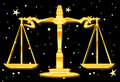 Weighing The Balance The Libra Way Royalty Free Stock Photos