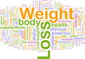 Weight loss background concept Royalty Free Stock Photo