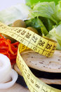 Weight loss, healthy diet Royalty Free Stock Photography