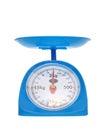 Weight measurement balance Royalty Free Stock Photo