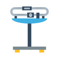 Weight measurement instrumentation tool vector.