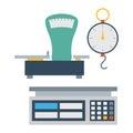 Weight measurement instrumentation tool vector.