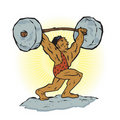 Weightlifting Beast Royalty Free Stock Image