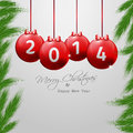 Weihnachten und neuer year�s eve background Stockbilder