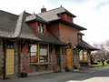 Weiser train depot idaho the has been a historic landmark since Stock Photography