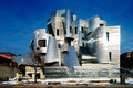 Weisman art museum university of minnesota in minneapolis usa is located on the campus designed by architect frank gehry was Royalty Free Stock Photos