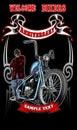 Welcome bikers banner