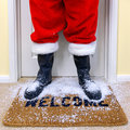 Welcome Santa Royalty Free Stock Photo