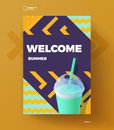 Welcome summer poster
