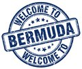 welcome to Bermuda stamp