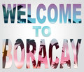 Welcome To Boracay Means Beach Vacations And Island Royalty Free Stock Photo
