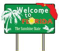 Welcome to florida Royalty Free Stock Photo