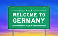 Welcome to Germany Royalty Free Stock Photo