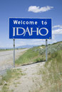 Welcome to Idaho  Stock Images