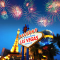 Welcome to Las Vegas Royalty Free Stock Photo