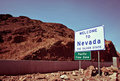 Welcome to Nevada Royalty Free Stock Image