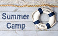 Welcome to summer camp sign