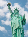 Welcome to the united states statue of liberty in new york Stock Photography